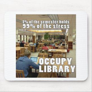 Ocupe la biblioteca mouse pads