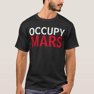 Ocupe la camisa divertida de Marte