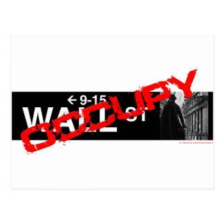 Ocupe la muestra de Wall Street Postal
