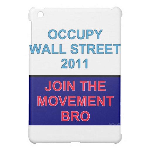 Ocupe la pared Calle-Se unen al movimiento Bro