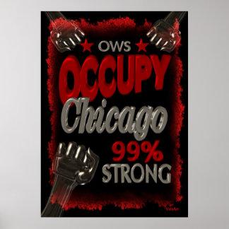 Ocupe la protesta de Chicago OWS el 99 por ciento  Impresiones