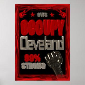Ocupe la protesta de Cleveland OWS el 99 por cient Impresiones