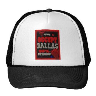 Ocupe la protesta de Dallas OWS el 99 por ciento Gorro De Camionero
