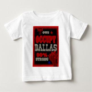 Ocupe la protesta de Dallas OWS el 99 por ciento Playera