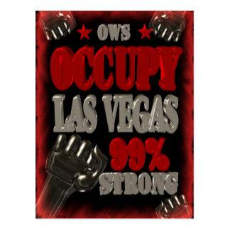 Ocupe la protesta de Las Vegas OWS el 99 por Tarjeta Postal