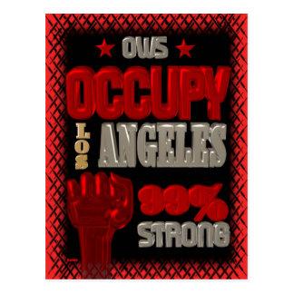 Ocupe la protesta de Los Ángeles OWS el 99 por Postal