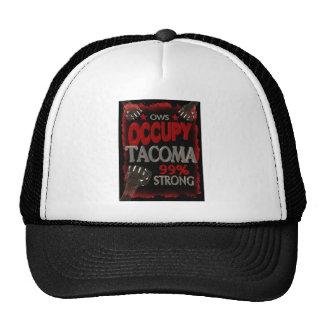 Ocupe la protesta de Tacoma OWS el 99 por ciento Gorras