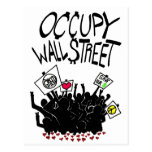Ocupe la protesta de Wall Street Postales
