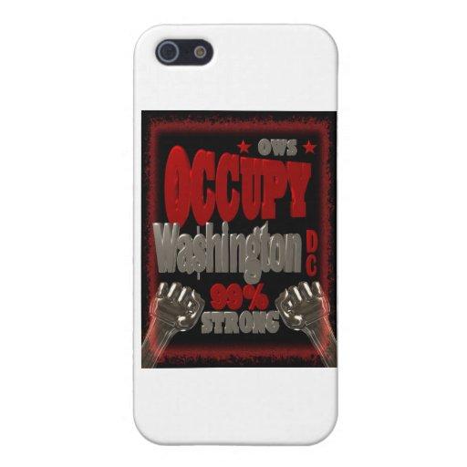 Ocupe la protesta del Washington DC OWS el 99 por  iPhone 5 Coberturas