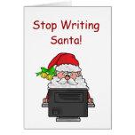 Ocupe la tarjeta de Navidad de Polo Norte