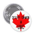 Ocupe la UBC-Universidad de Canadá @ de la Columbi Pin