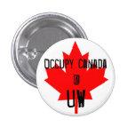 Ocupe la UW-Universidad de Canadá @ de Waterloo Pin