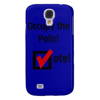 ¡Ocupe las encuestas! Funda Para Galaxy S4