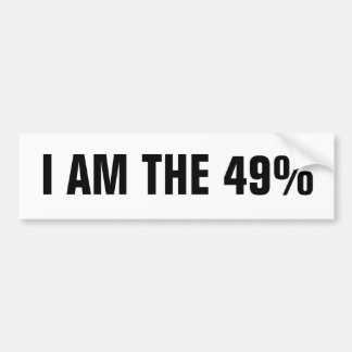 Ocupe las reuniones del Consejo el 49% Etiqueta De Parachoque