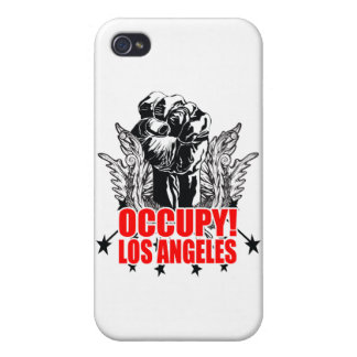 Ocupe Los Ángeles iPhone 4/4S Fundas