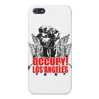 Ocupe Los Ángeles iPhone 5 Cárcasas