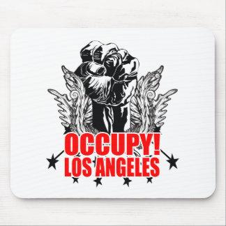 Ocupe Los Ángeles Alfombrilla De Ratones