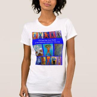 Ocupe mi camiseta de acopio nacional del edredón remera