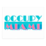 Ocupe Miami Tarjetas Postales