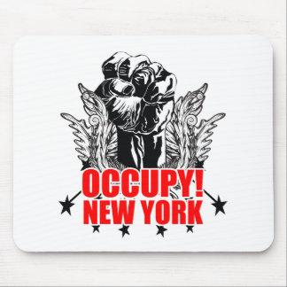 Ocupe Nueva York Tapetes De Ratón