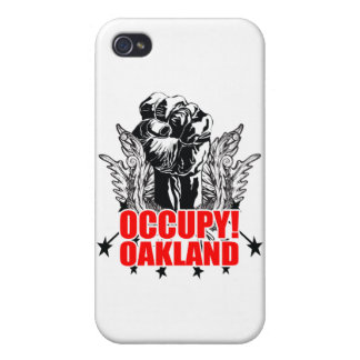 Ocupe Oakland iPhone 4 Coberturas