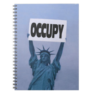 Ocupe por todas partes notebook