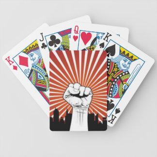 Ocupe su juego de tarjeta barajas de cartas