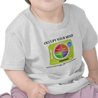 Ocupe su mente con las proporciones dietéticas MyP Camiseta