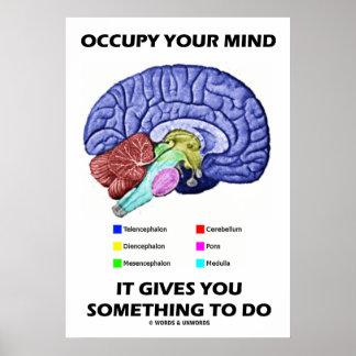 Ocupe su mente que le da algo hacer impresiones