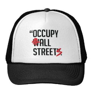 Ocupe todas las calles gorros
