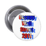 Ocupe Wall Street 2011 Pin