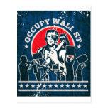 Ocupe Wall Street América Nueva York Tarjeta Postal