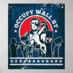 Ocupe Wall Street América Poster
