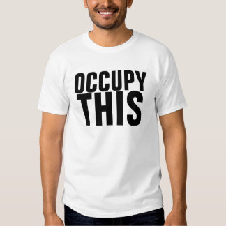 Ocupe Wall Street Camisas