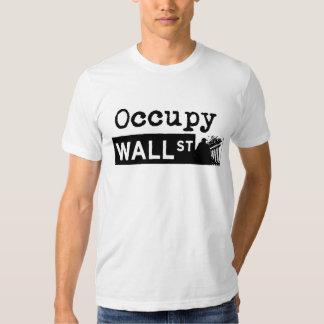 Ocupe Wall Street - donación 100% Poleras