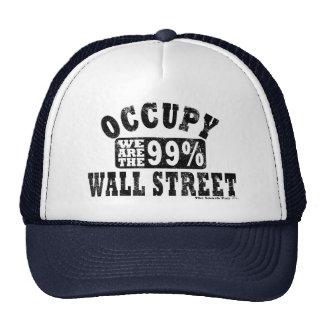 Ocupe Wall Street el 99% Gorras De Camionero