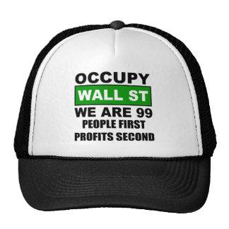 Ocupe Wall Street Gorros