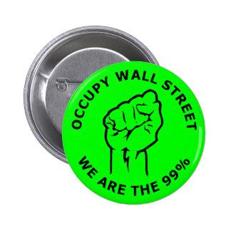 Ocupe Wall Street nosotros son el 99 Pin