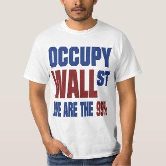 Ocupe Wall Street que somos los 99% Playera