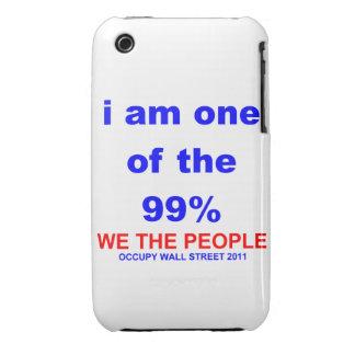 Ocupe Wall Street que soy uno del 99% Blackberry Funda Para iPhone 3 De Case-Mate