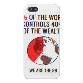 Ocupe Wall Street - riqueza de los controles el 40 iPhone 5 Protector