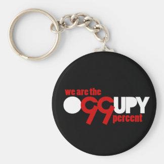 Ocupe Wall Street - somos el 99 por ciento Llavero