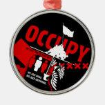 Ocupe Wall Street: Somos los 99% Adorno De Reyes