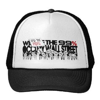 Ocupe Wall Street - somos los 99% Gorro De Camionero
