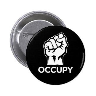 Ocupe Wall Street - somos los 99% Pin Redondo De 2 Pulgadas