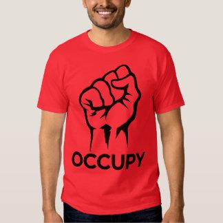 Ocupe Wall Street - somos los 99% Poleras