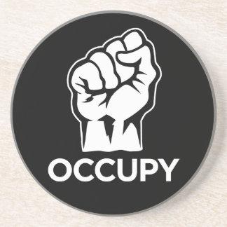 Ocupe Wall Street - somos los 99% Posavaso Para Bebida