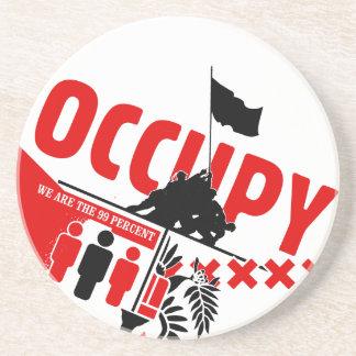 Ocupe Wall Street: Somos los 99% Posavasos Diseño