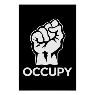 Ocupe Wall Street - somos los 99% Póster