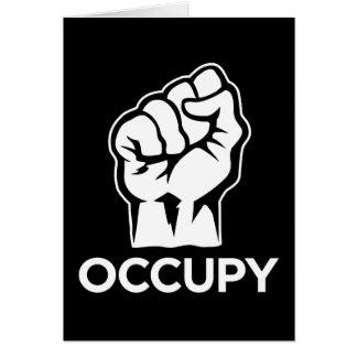 Ocupe Wall Street - somos los 99% Tarjeta De Felicitación